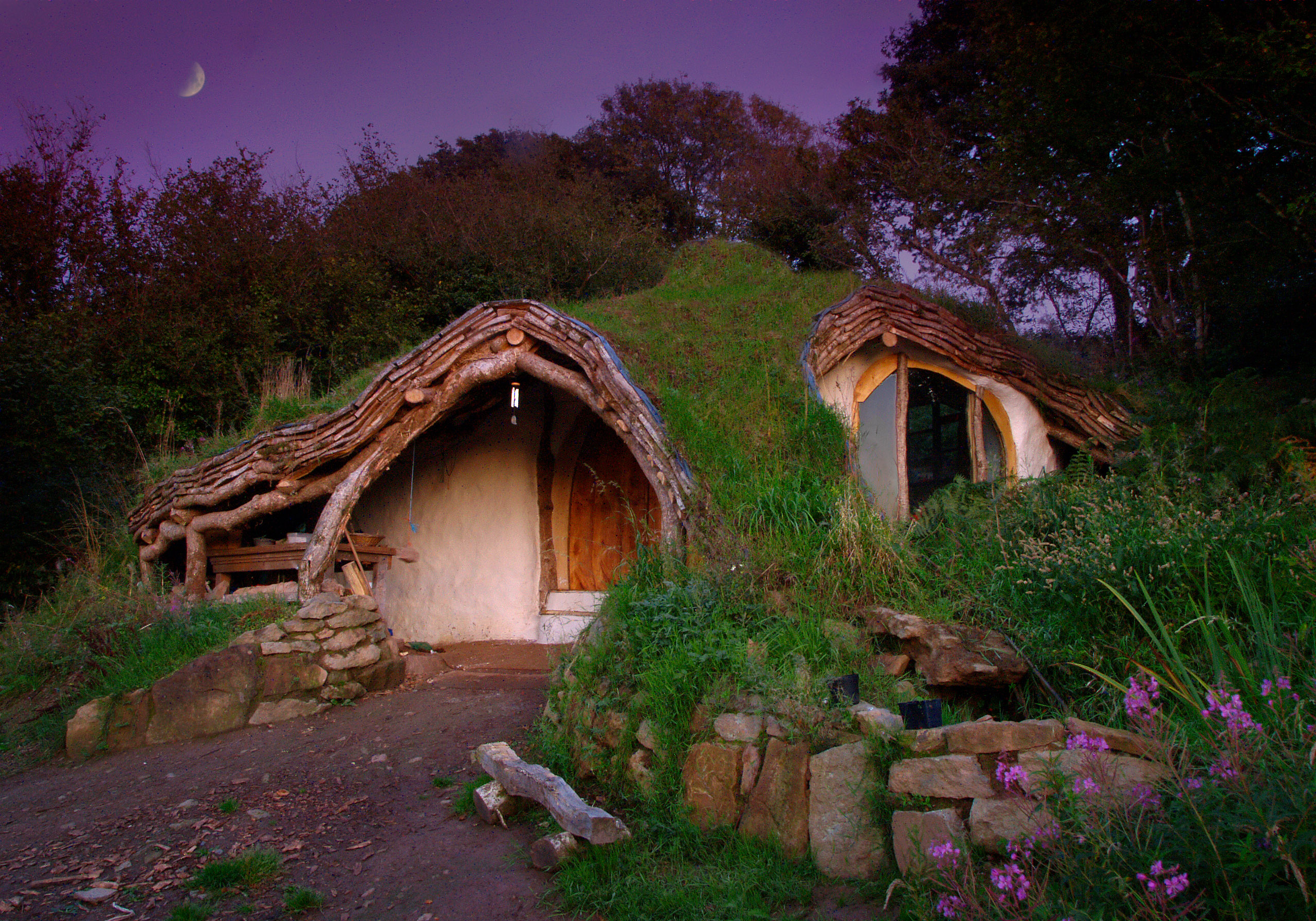 A hobbit burrow if I ever saw one